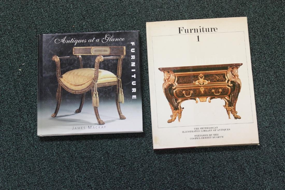 Two Hardcover Book on Furniture