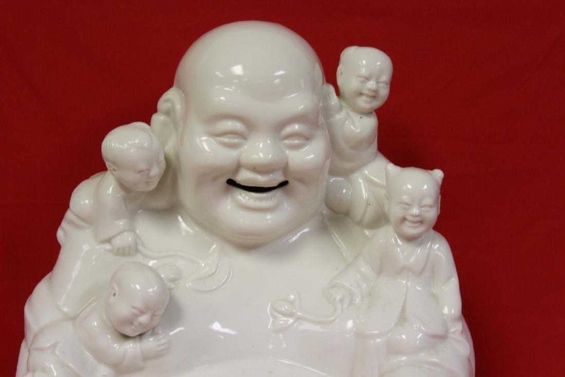 A Chinese Blanc de Chine Buddha - 2