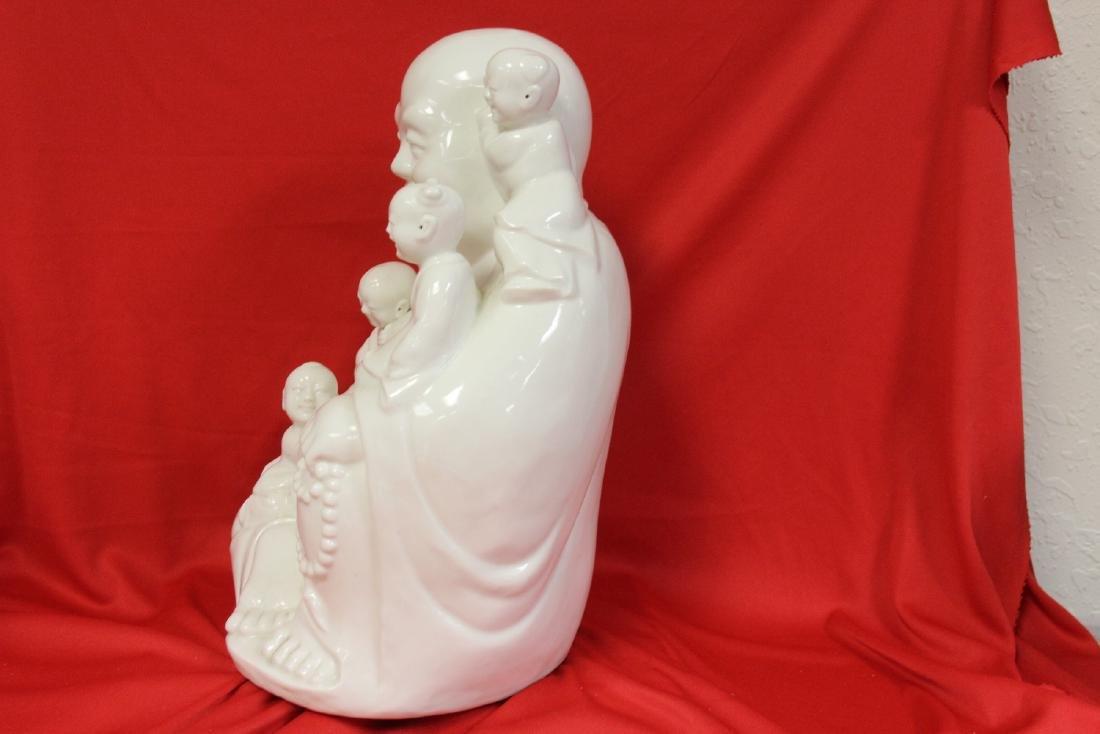 A Chinese Blanc de Chine Buddha - 7