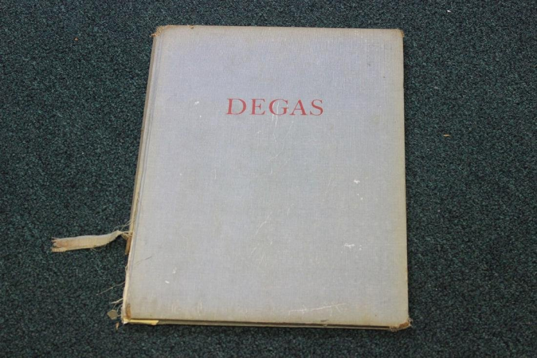 Hardcover Book on Degas