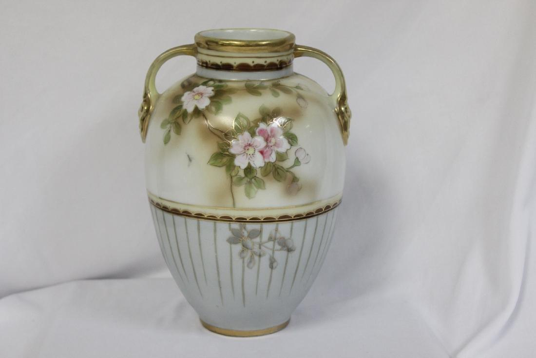 A Japanese Nippon Vase