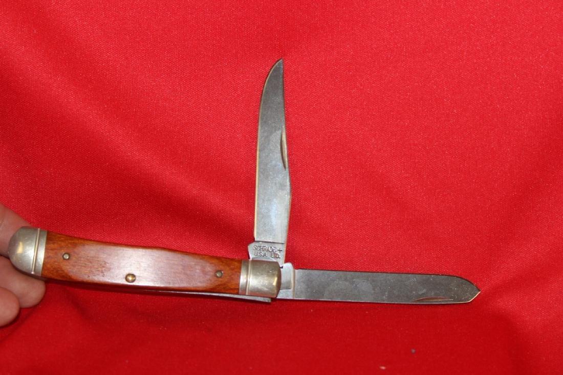 A Schrade Knife - 5