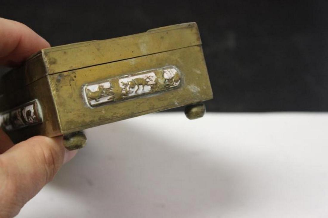A Vintage/Antique Chinese Jade, Carneillian Enamel - 7