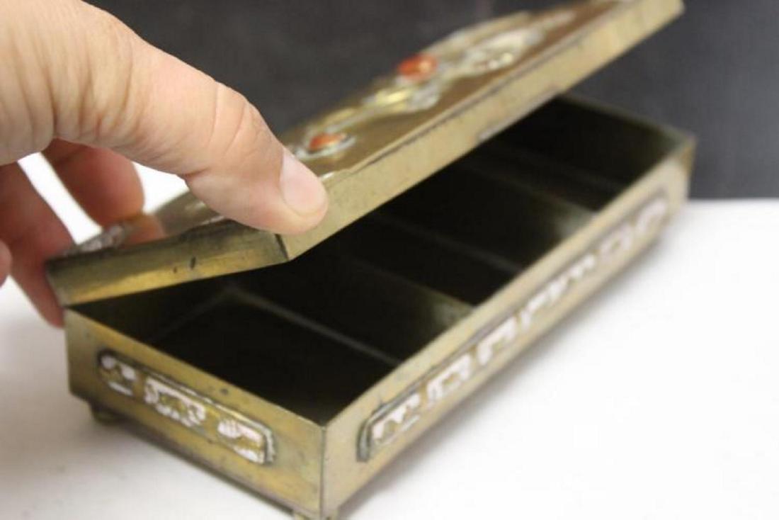 A Vintage/Antique Chinese Jade, Carneillian Enamel - 9