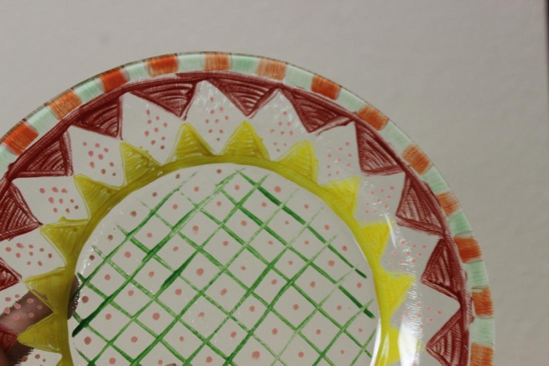 A Hand Painted Plate - 2