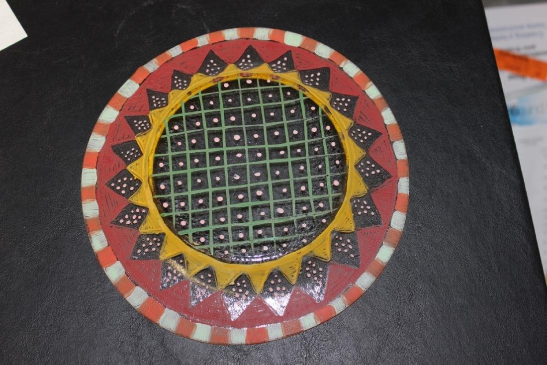 A Hand Painted Plate - 5
