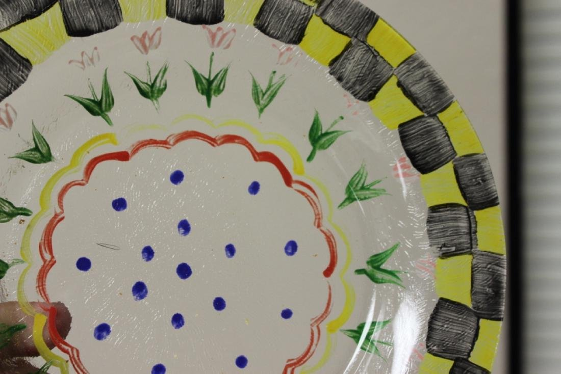 A Hand Painted Plate - 3