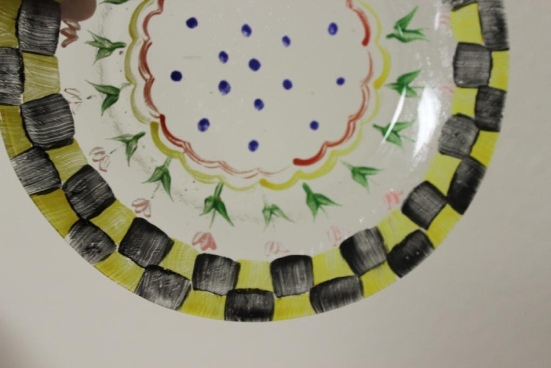 A Hand Painted Plate - 7