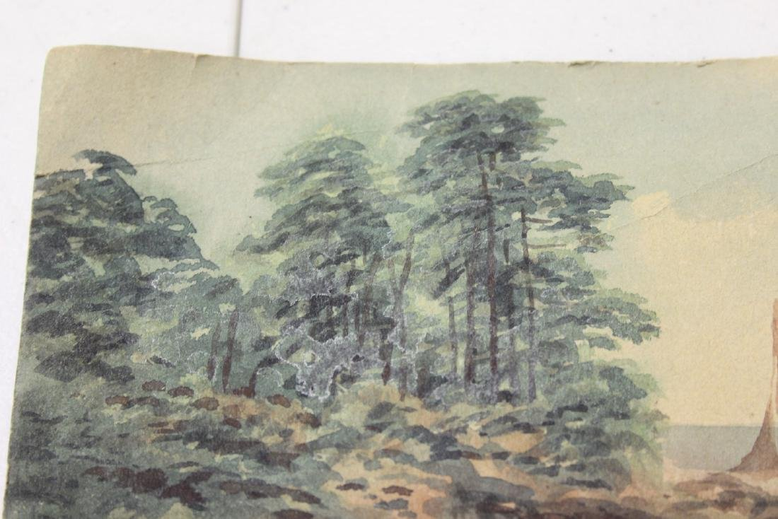 A Watercolour on Paper - 3