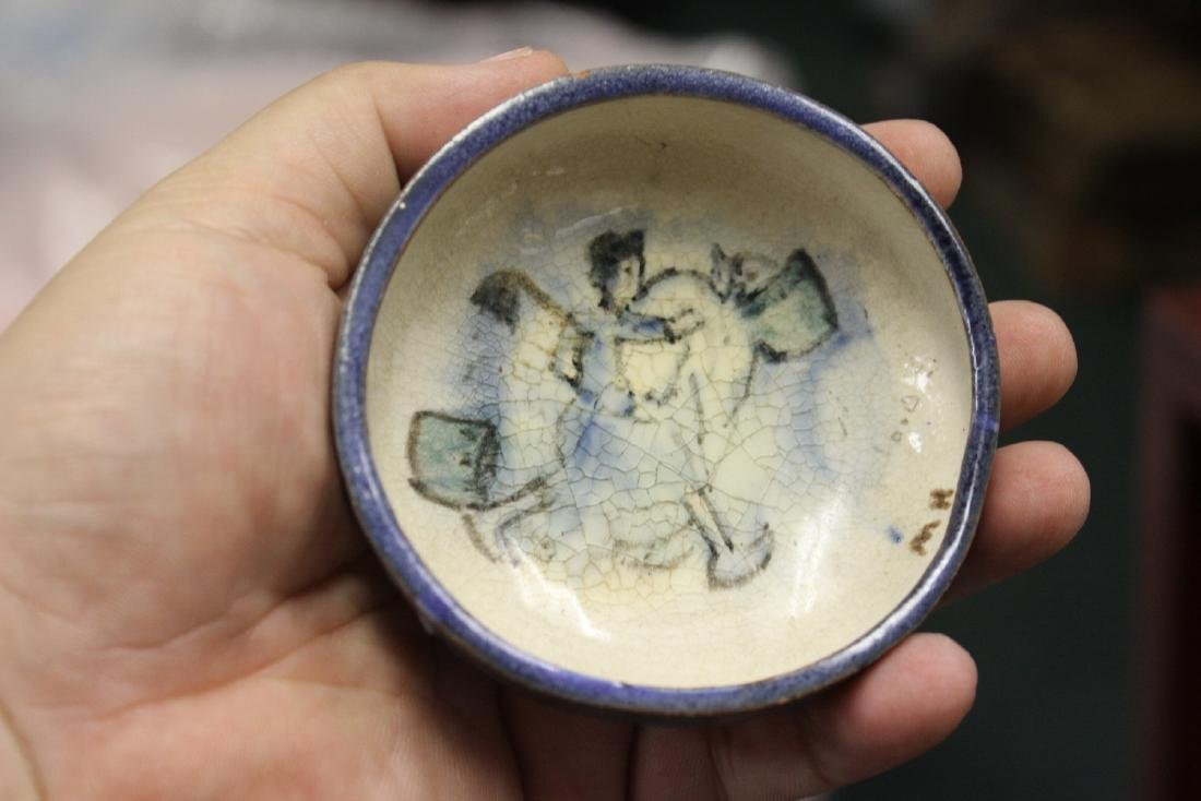 A Plymouth Pottery Small Dish
