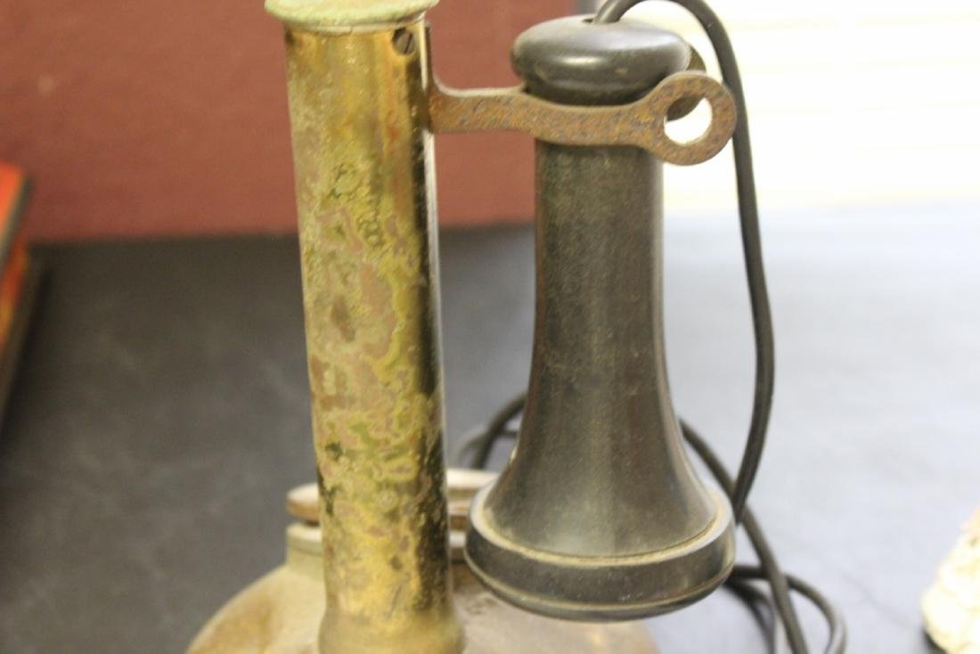 A Vintage Candle Stick Phone - 10