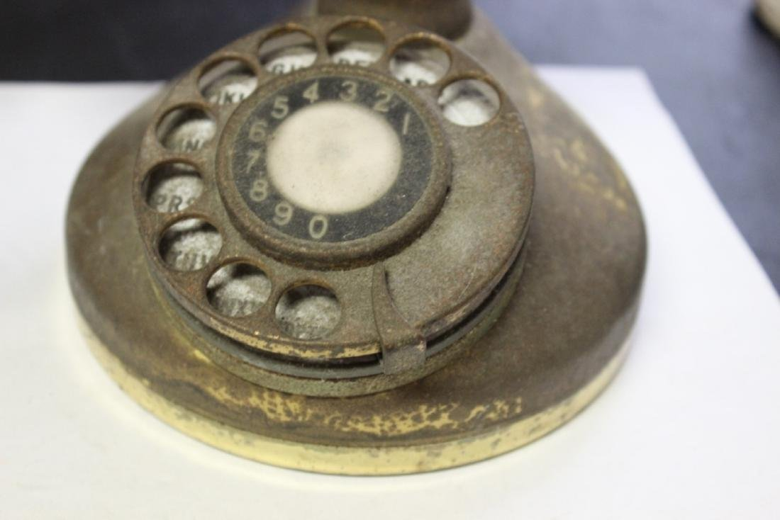 A Vintage Candle Stick Phone - 2