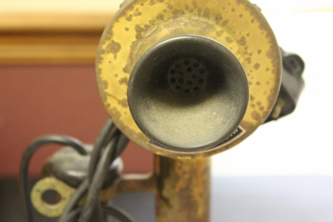 A Vintage Candle Stick Phone - 6