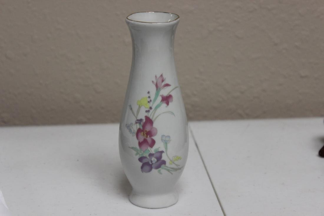 Vase with Floral Print
