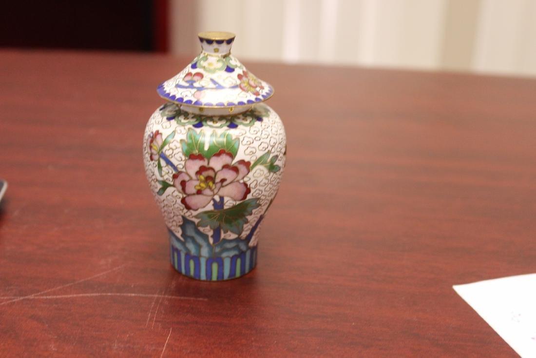 A Cloisonne Jar