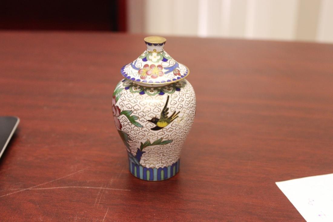 A Cloisonne Jar - 2