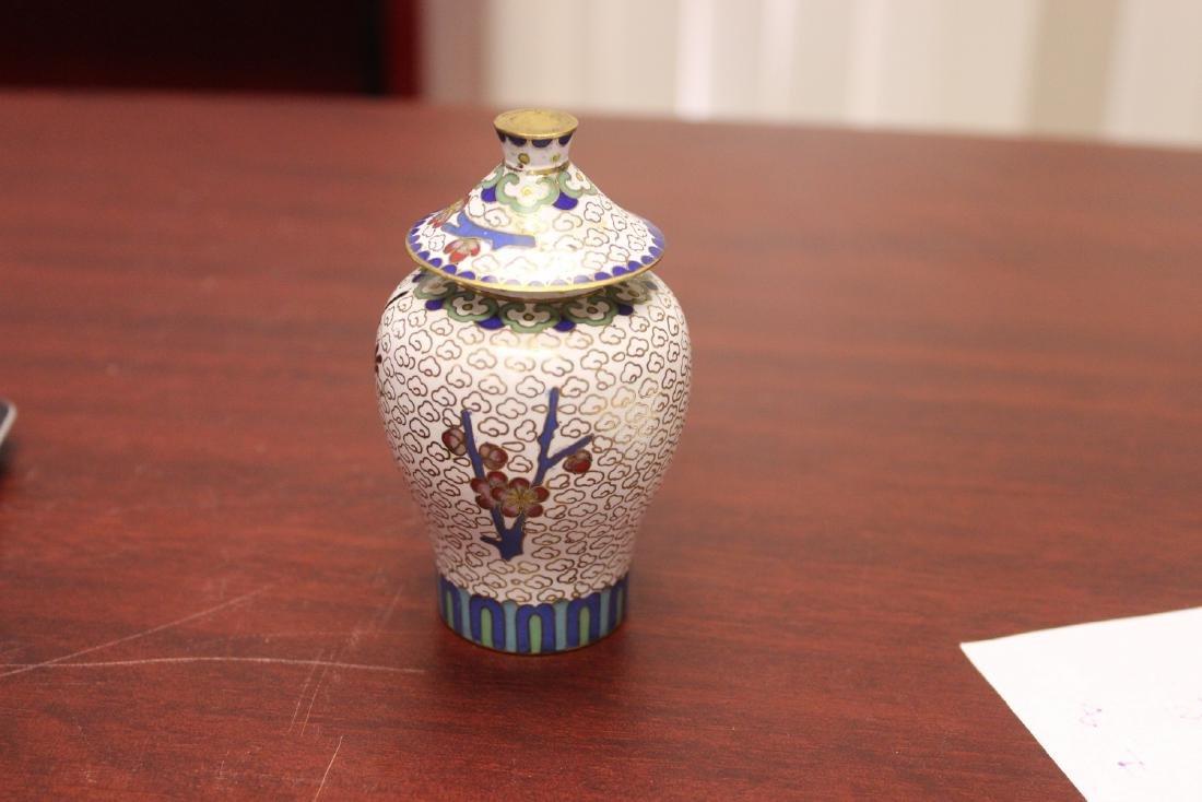 A Cloisonne Jar - 3