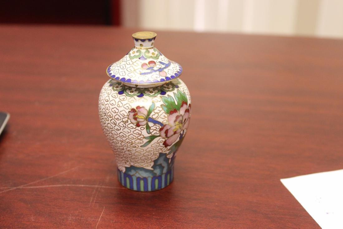 A Cloisonne Jar - 4