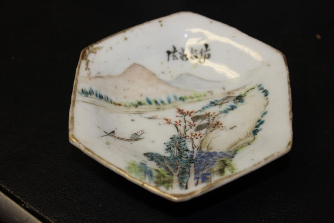 An Early 20th Century Chinese Sauce Dish