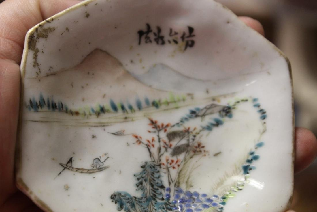 An Early 20th Century Chinese Sauce Dish - 3