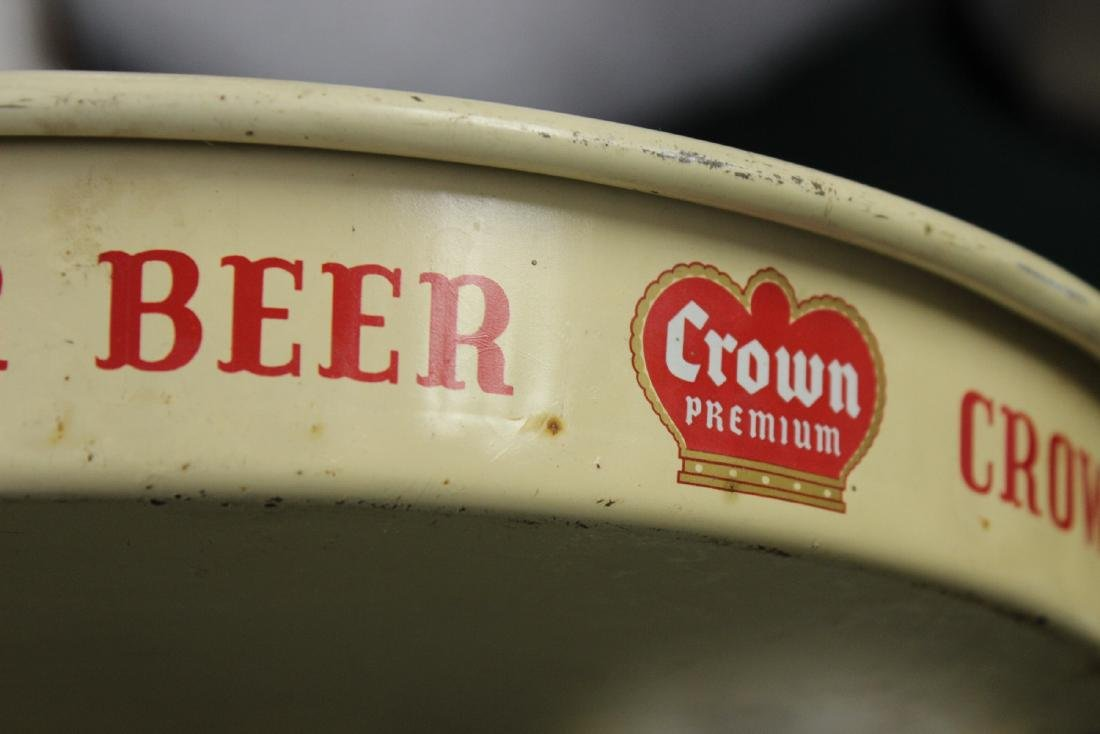 A Crown Premium Beer Tray - 4