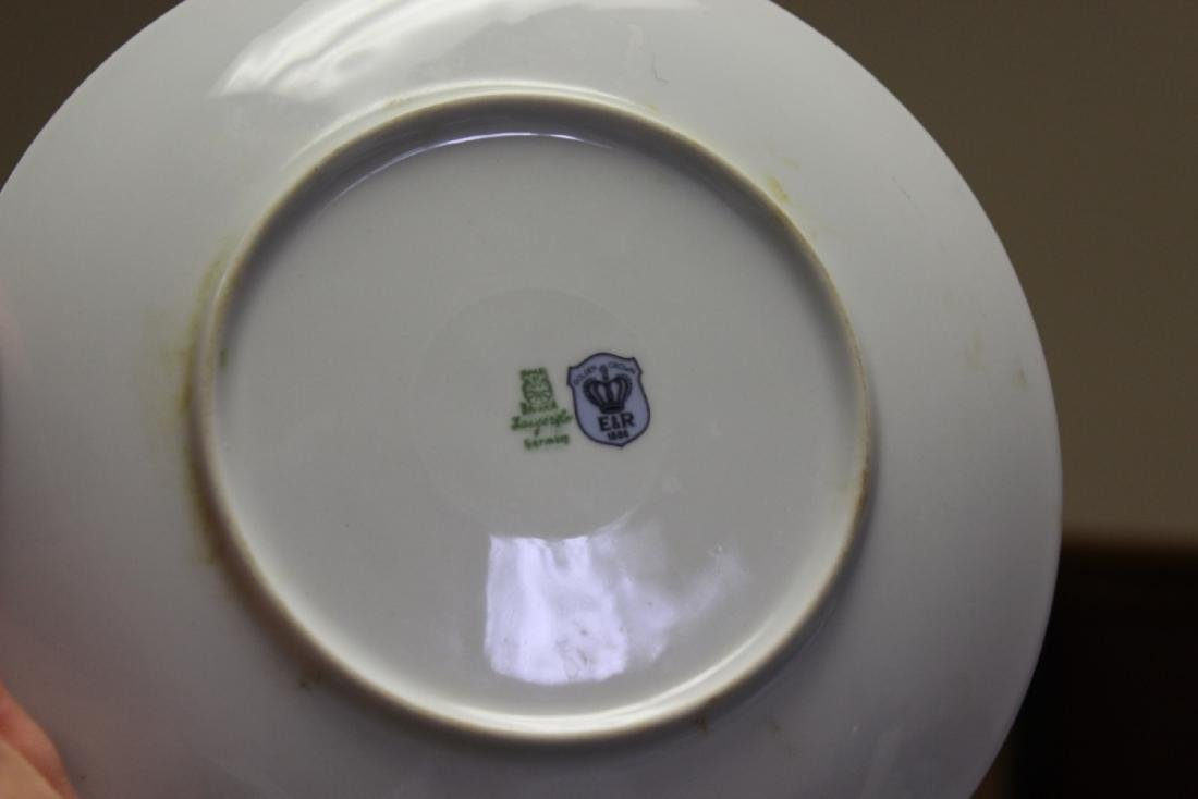 An E&R Golden Crown Germany Salad Plate - 2
