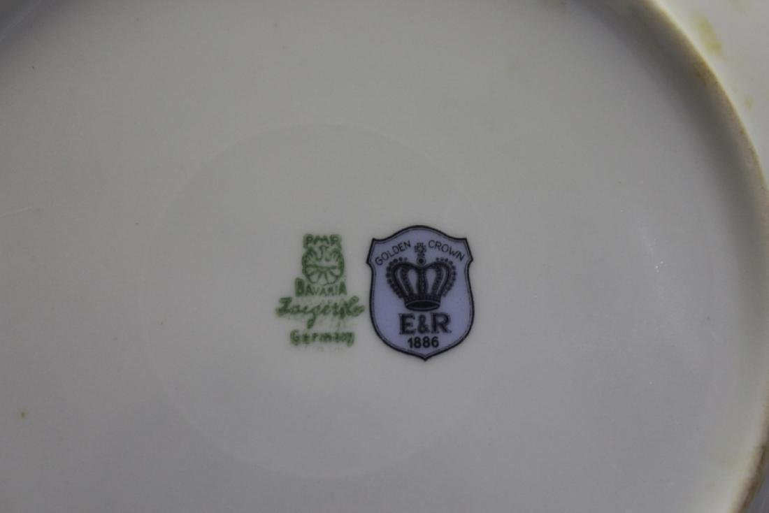 An E&R Golden Crown Germany Salad Plate - 3