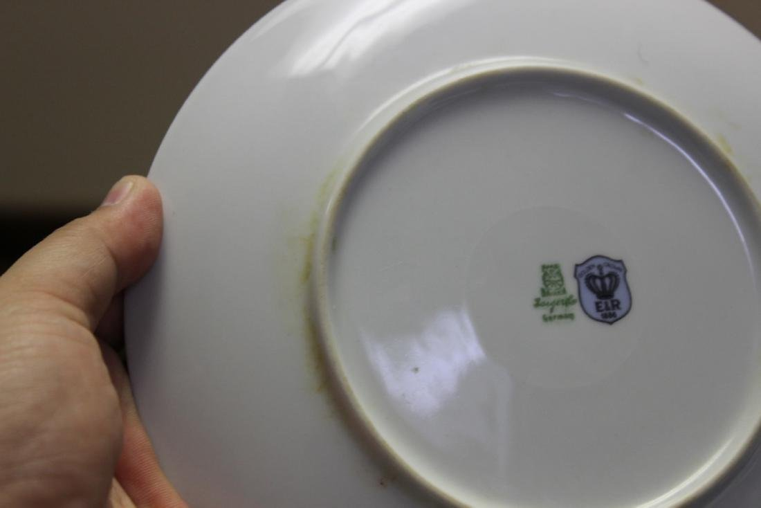 An E&R Golden Crown Germany Salad Plate - 7