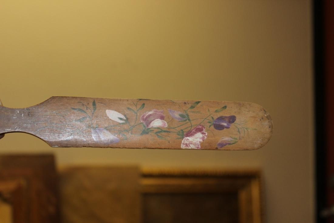 A Vintage Wooden Spatula or Letter Opener - 2