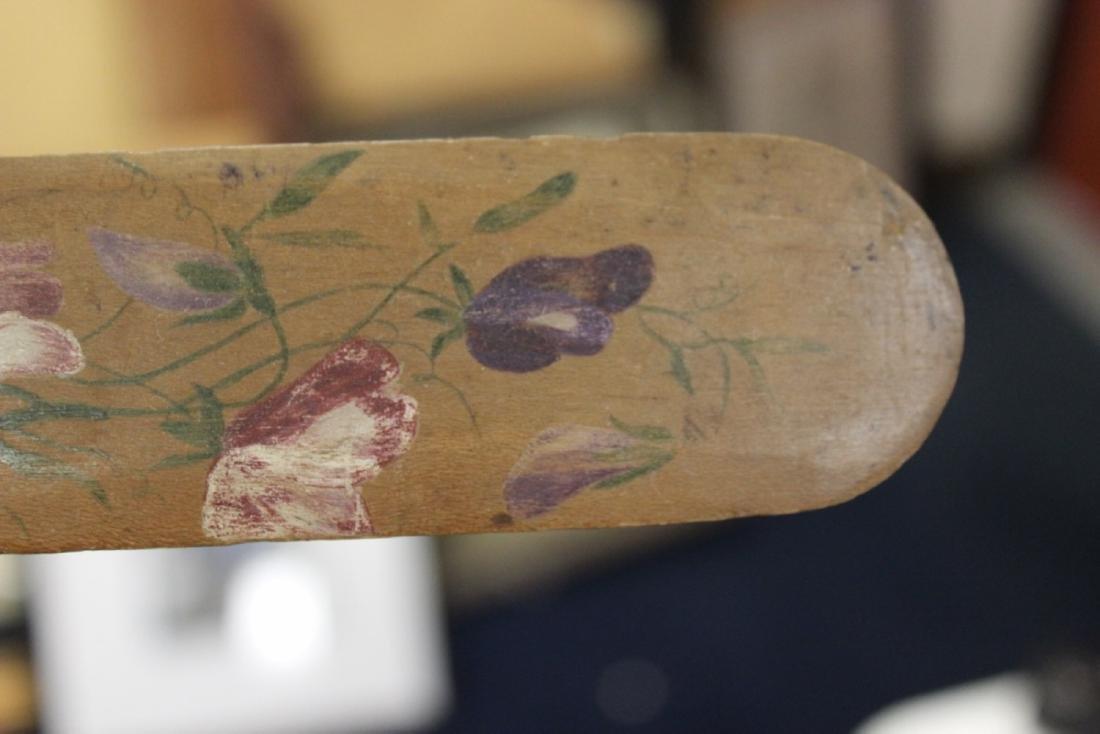 A Vintage Wooden Spatula or Letter Opener - 3