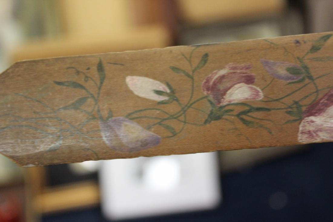A Vintage Wooden Spatula or Letter Opener - 6