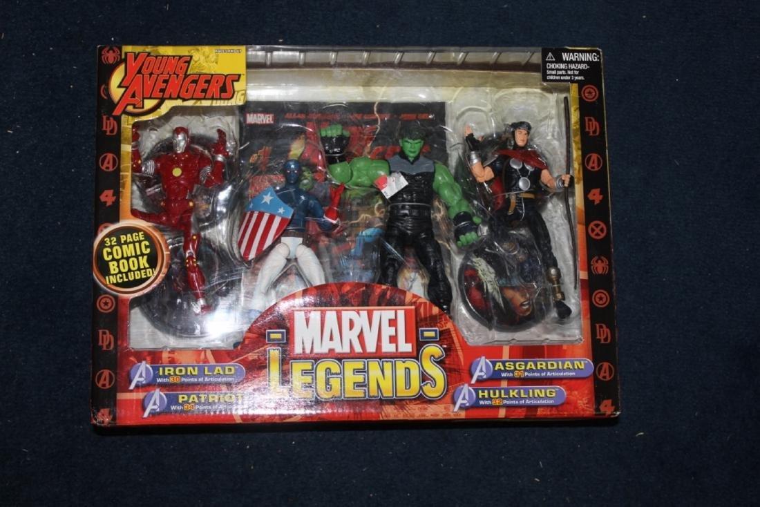 Marvel Legend - Figurines in box