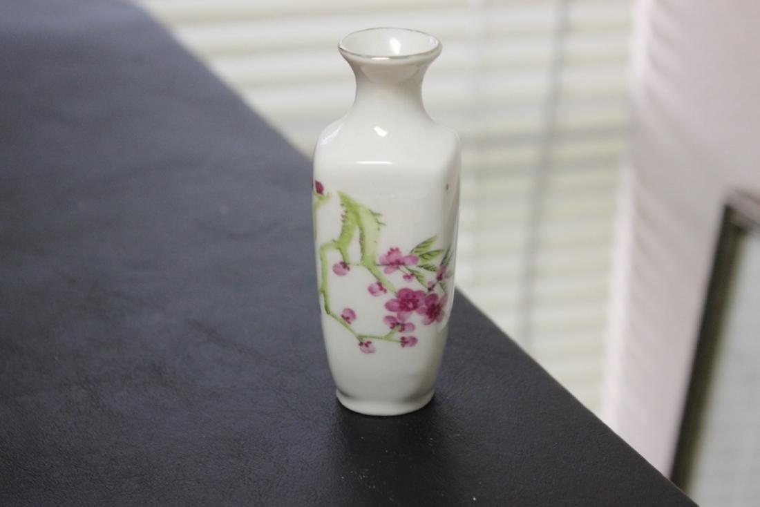 A Chinese/Asian Miniature Porcelain Rectangular Form