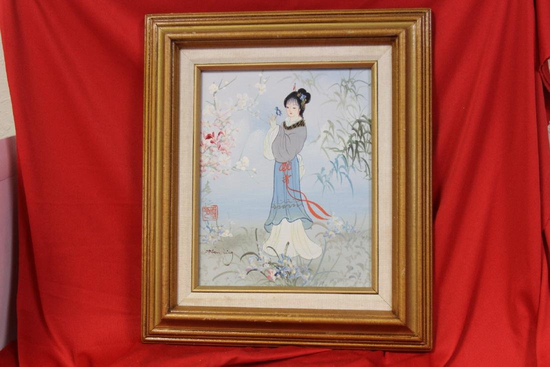 A Chinese Painting - Signed