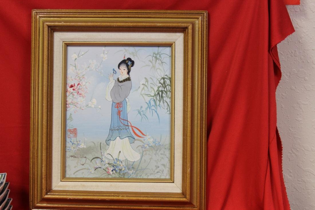 A Chinese Painting - Signed - 2
