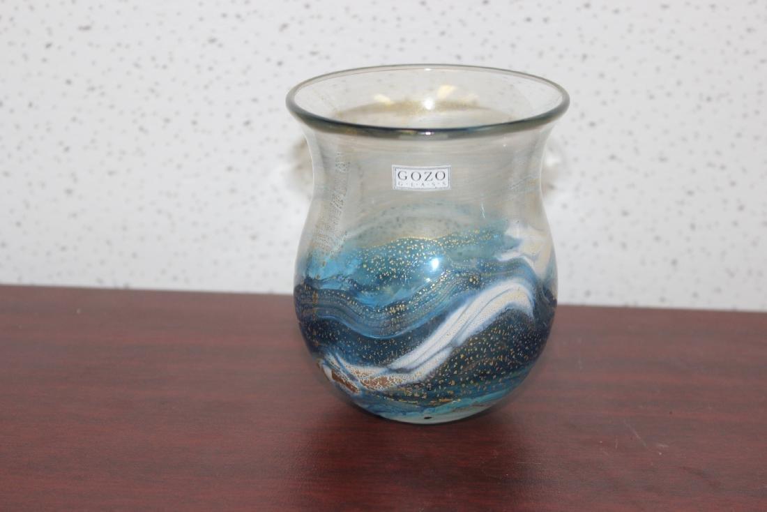 A Gozo Art Glass Vase