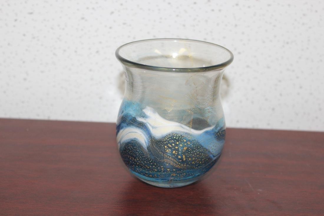 A Gozo Art Glass Vase - 2