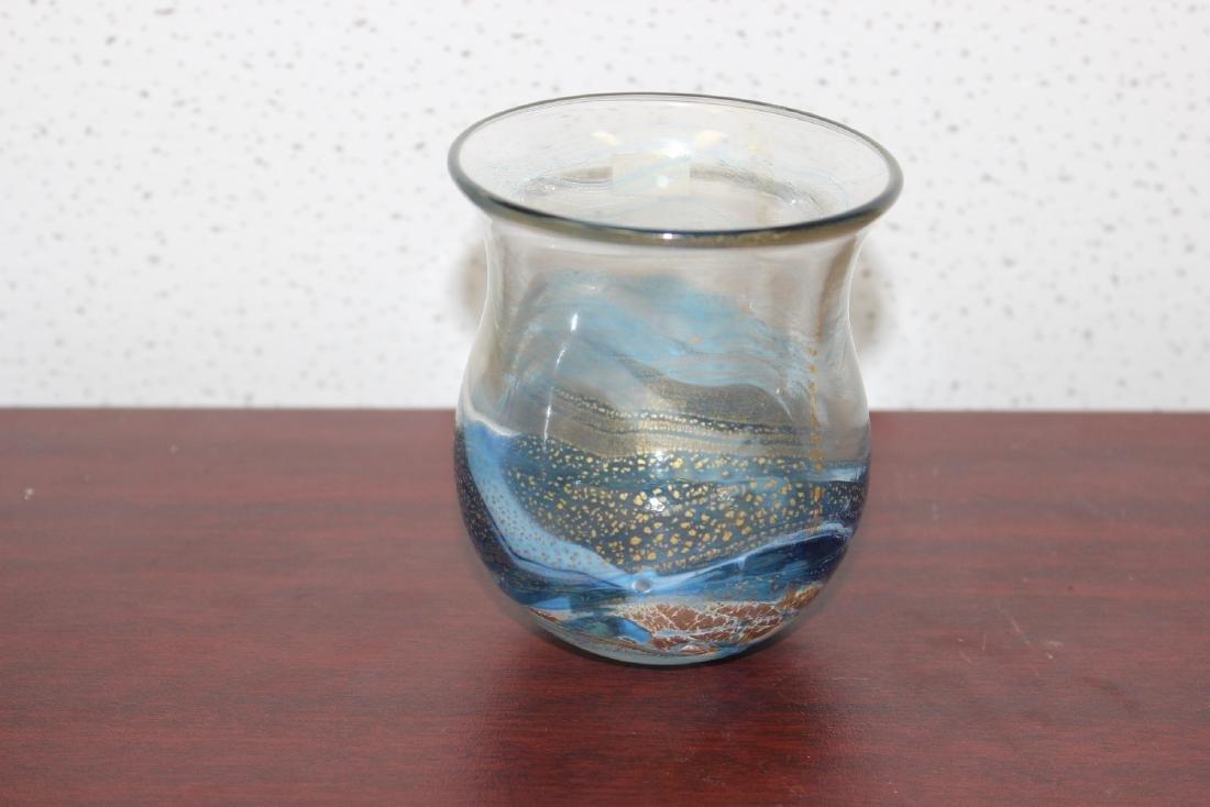 A Gozo Art Glass Vase - 3