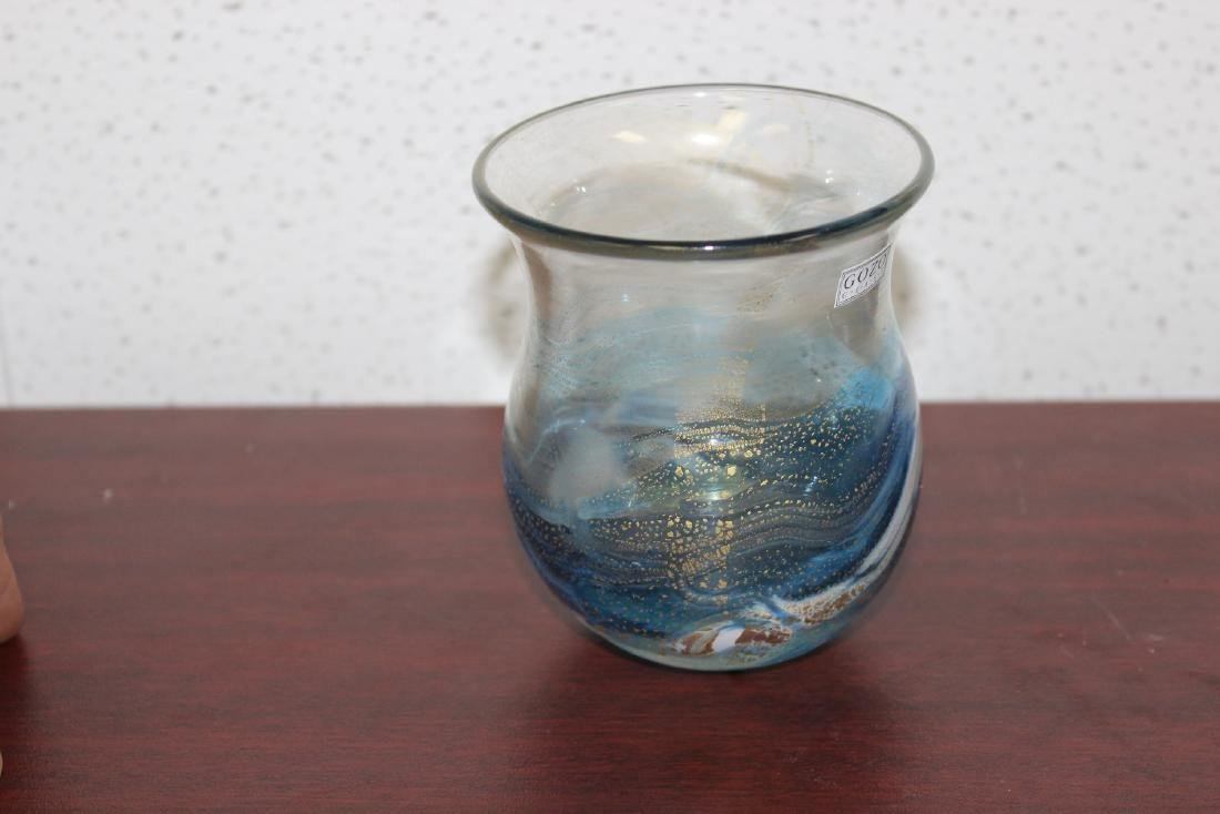 A Gozo Art Glass Vase - 4
