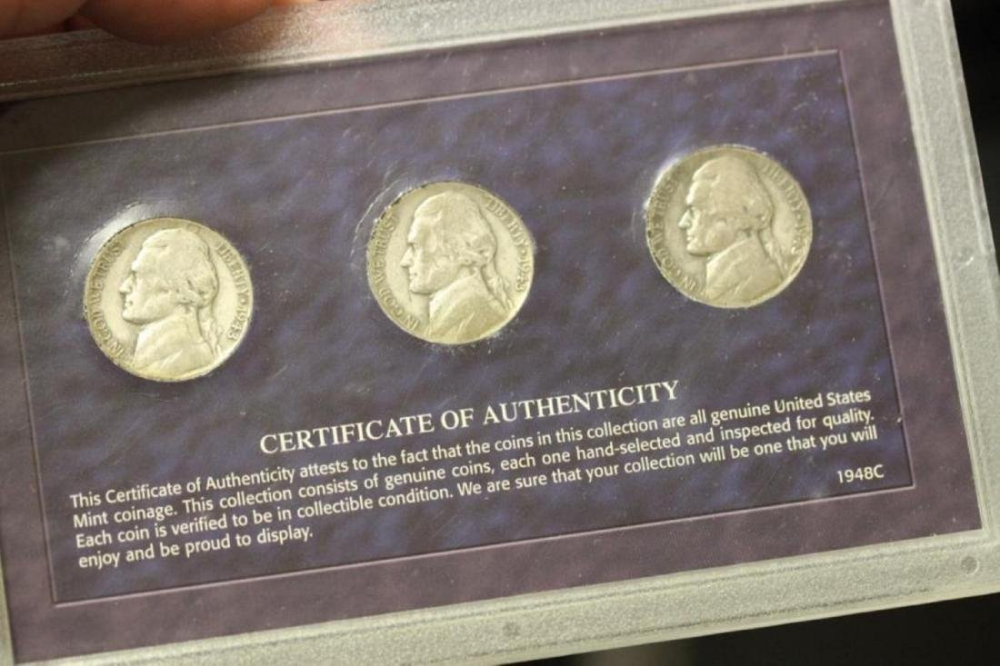 Silver Nickel Mint Mark Collection - 2