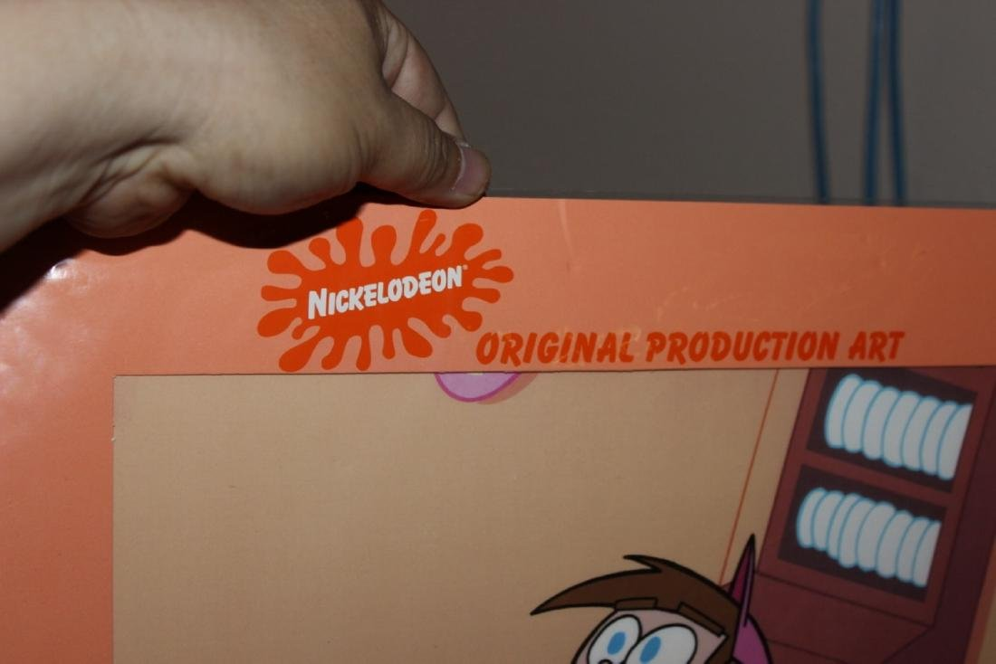 A Very Rare Nickelodeon Animated Cell Art - 5