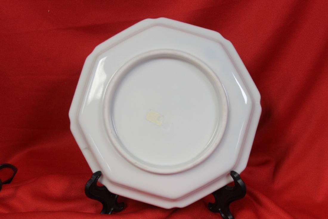 An Oriental  Octagon Plate - 2