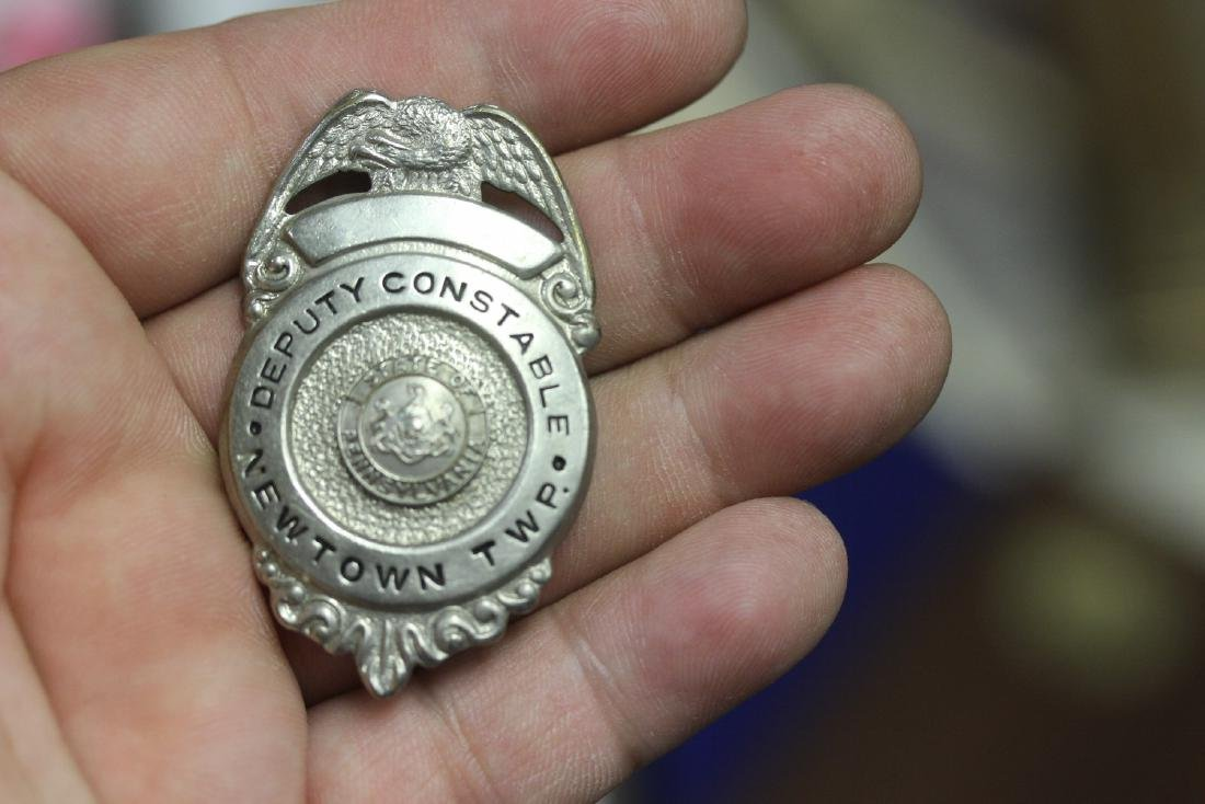A Deputy Constable Newton Twsp Badge