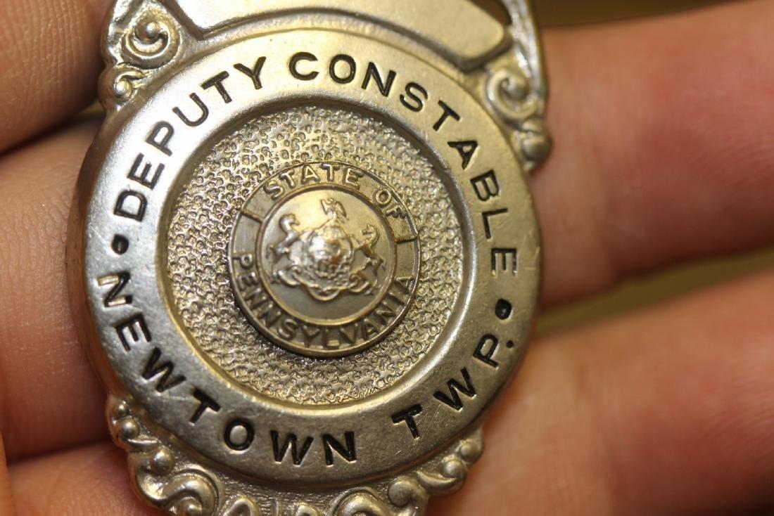 A Deputy Constable Newton Twsp Badge - 3