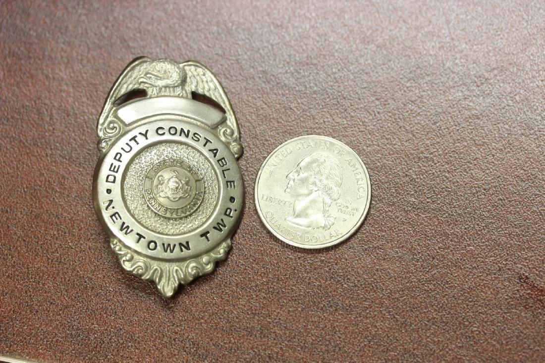 A Deputy Constable Newton Twsp Badge - 5
