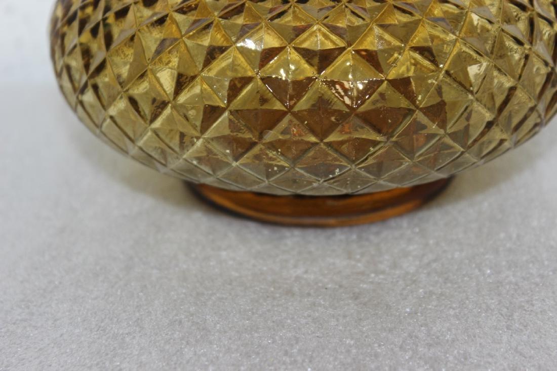 An Italian Amber Glass Decanter - 2