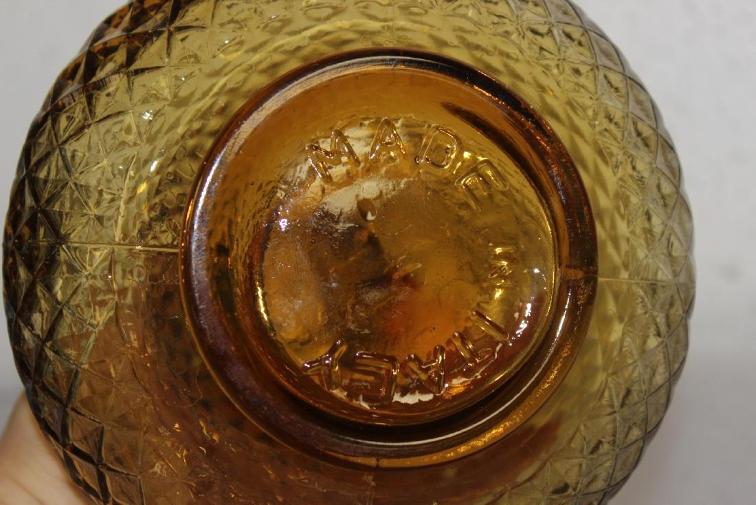 An Italian Amber Glass Decanter - 6