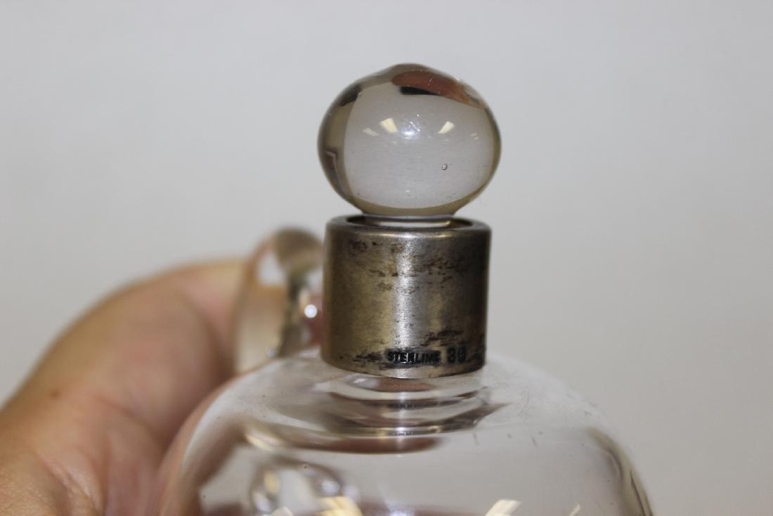 A Small Glass Brandy Decanter - 4
