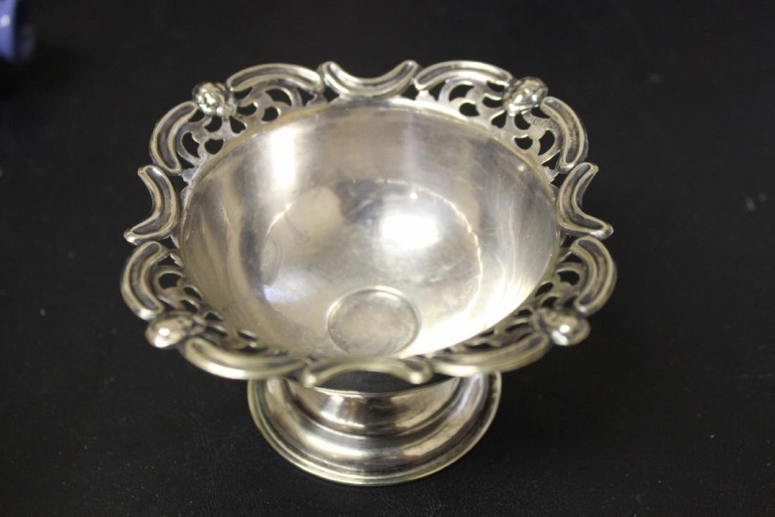 A Sterling Silver Figeral Small Dish