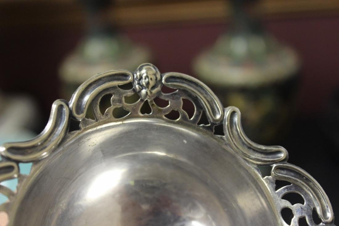 A Sterling Silver Figeral Small Dish - 3